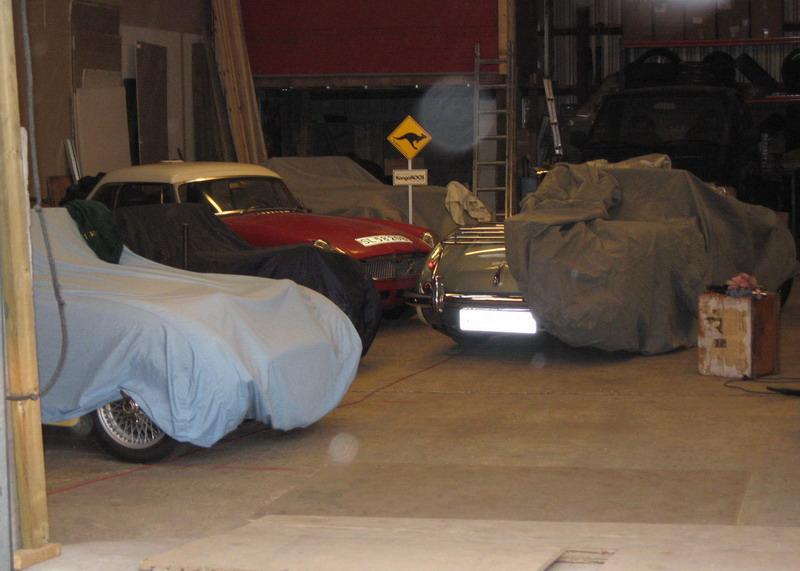 et kig i garagen